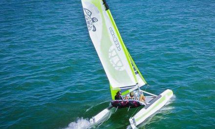 L'Iziboat, le catamaran démontable de François Tissier