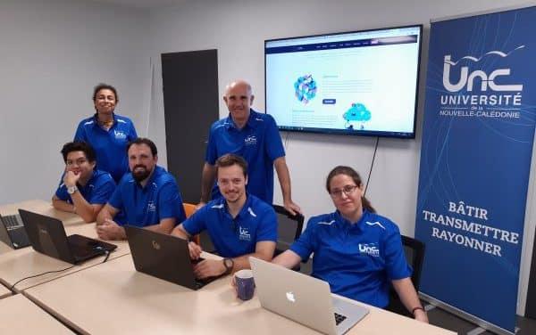 """La team """"UNC – L2K Innovation"""", 3ème du Hackathon Cassini sur l'observation spatiale"""