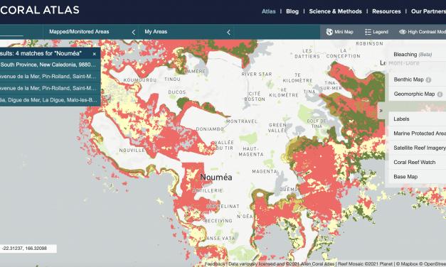 """""""ALLEN CORAL ATLAS"""" : une carte mondiale des récifs coralliens tropicaux à haute résolution"""